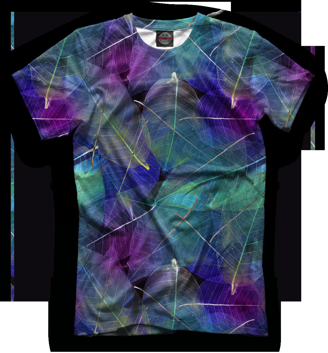 Купить Мужская футболка Листья MAC-708451-fut-2