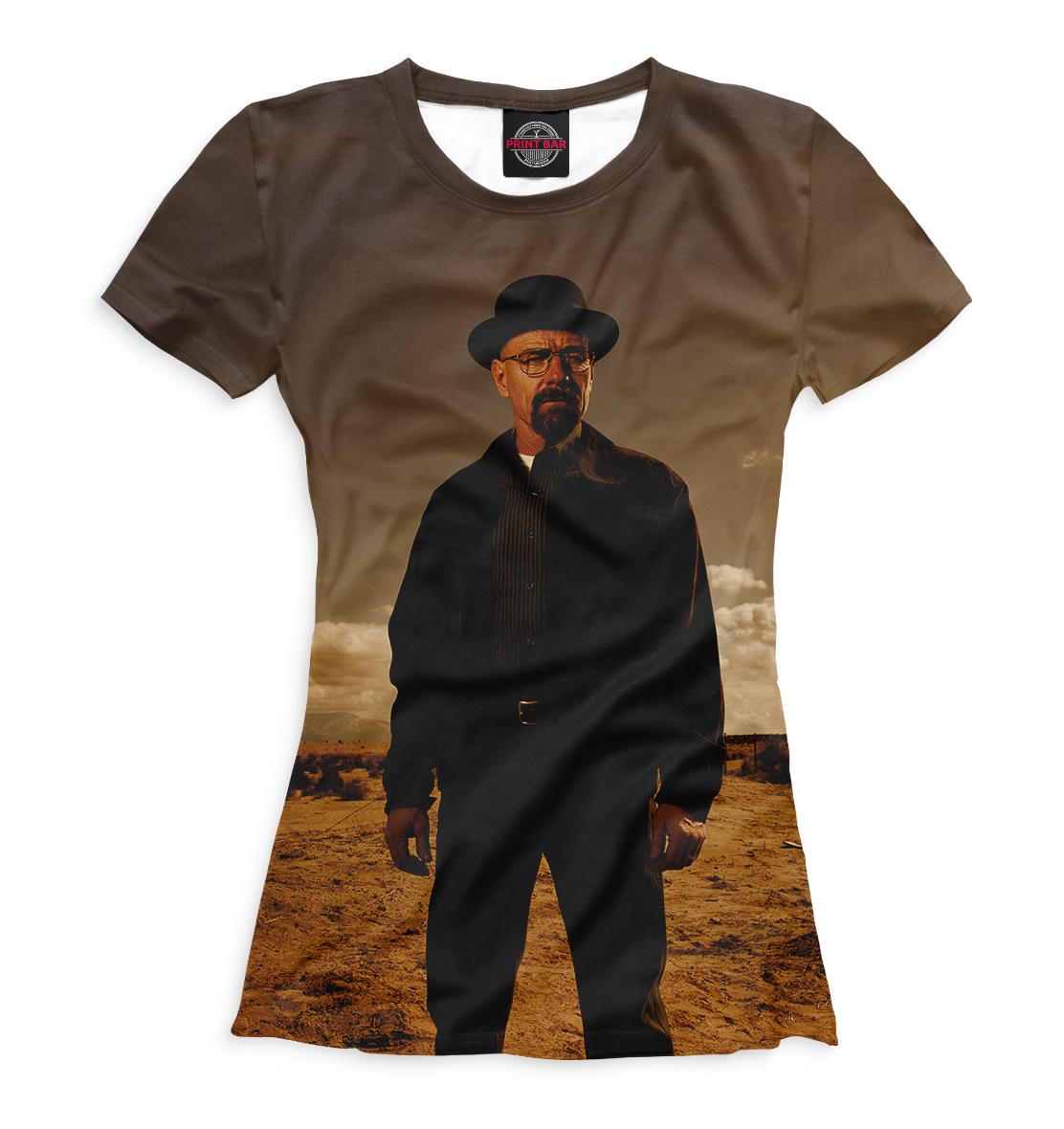 Купить Женская футболка Хайзенберг VVT-788283-fut-1