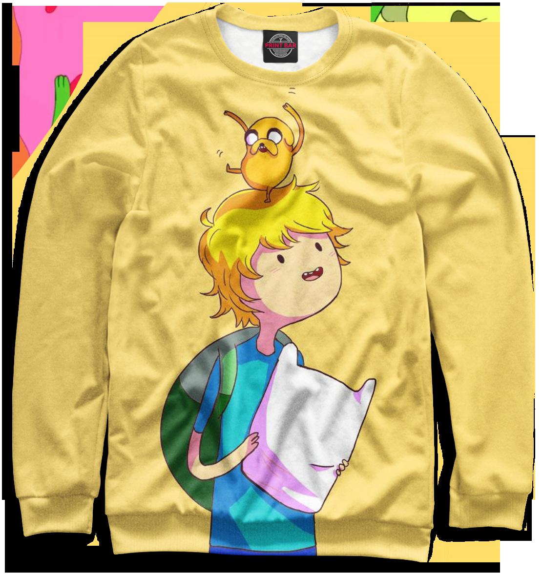 Купить Мужской свитшот Adventure Time ADV-360012-swi-2
