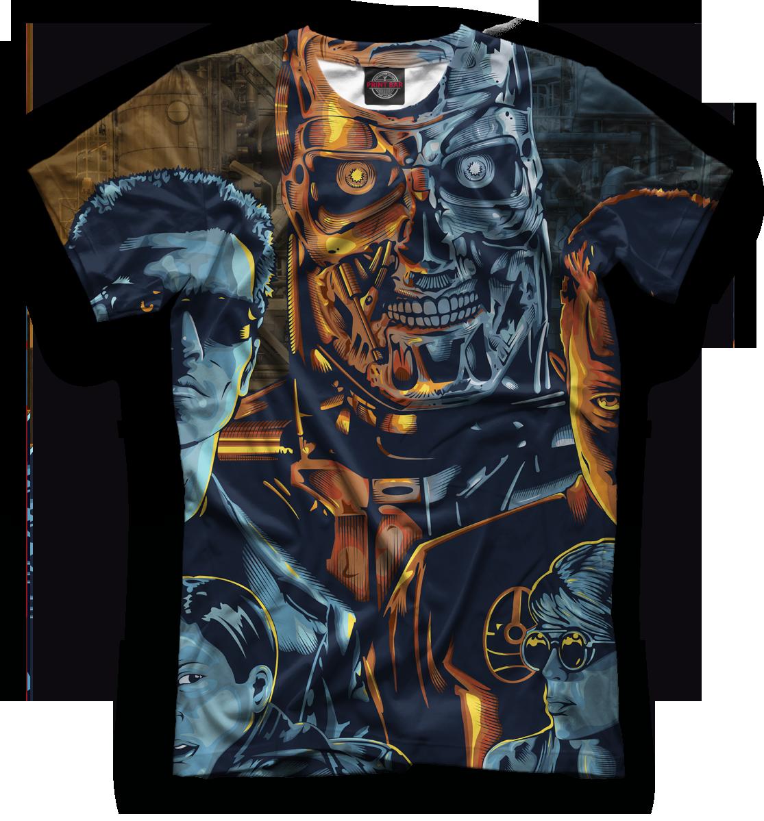 Купить Мужская футболка Терминатор TER-807278-fut-2