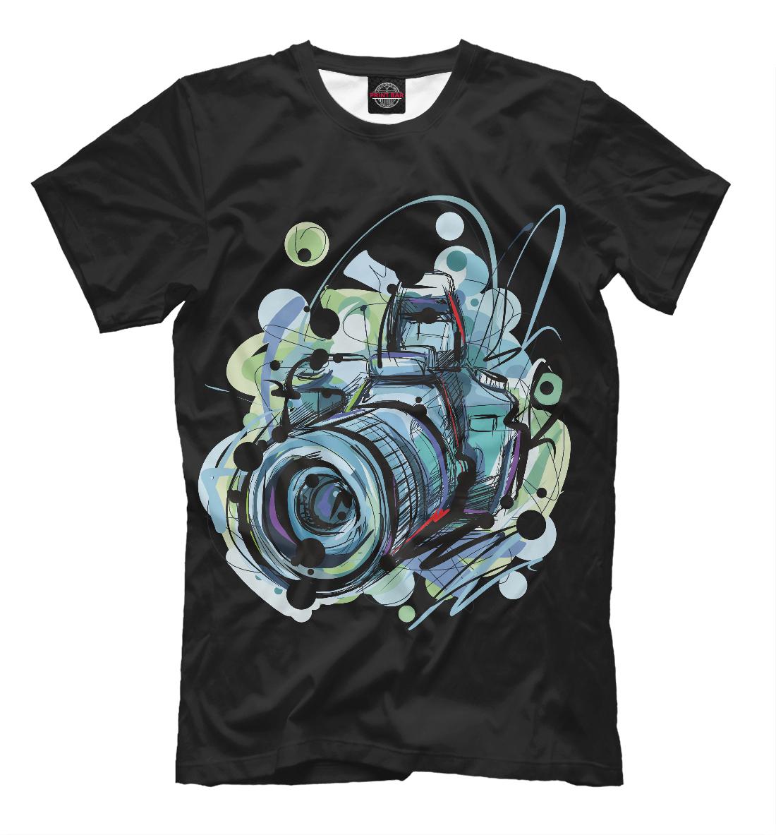 футболка для фотографа