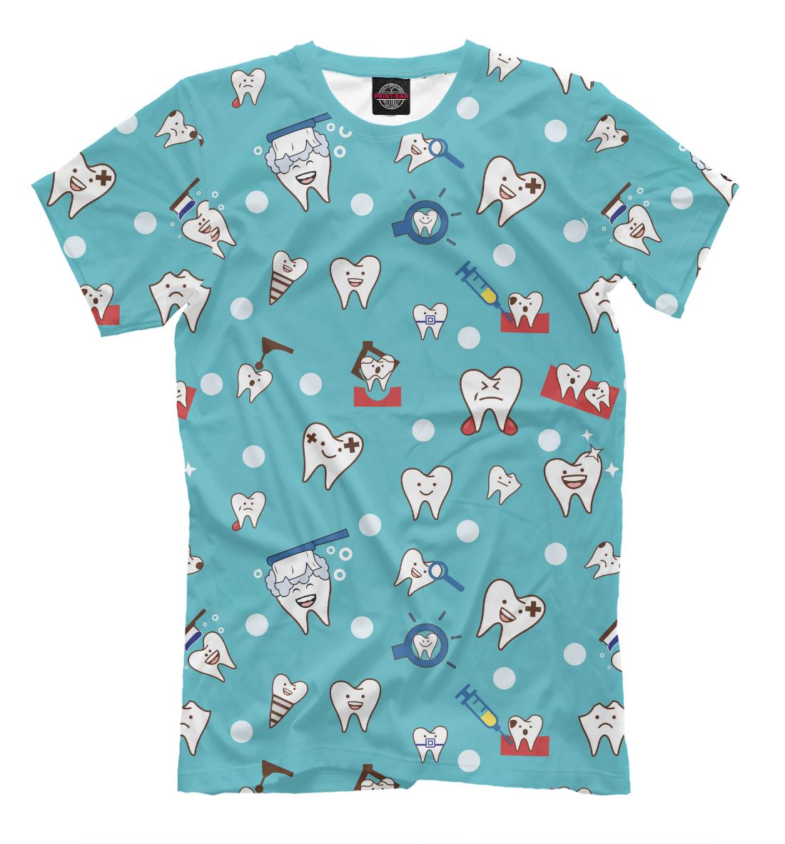 Купить Мужская футболка Зубки VRC-405286-fut-2