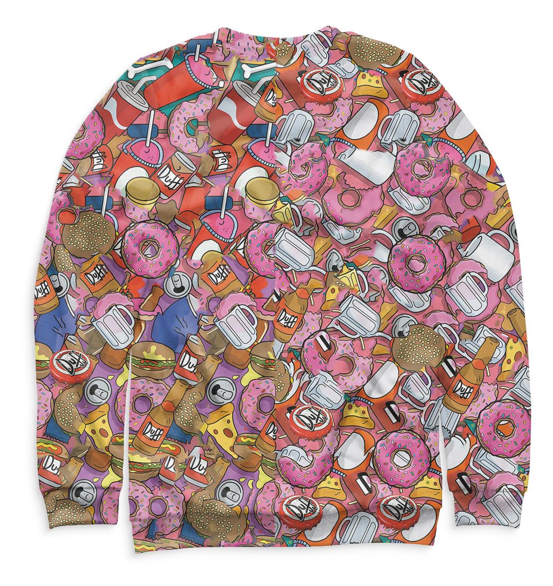 Купить Свитшот для девочек Гомер SIM-659027-swi-1