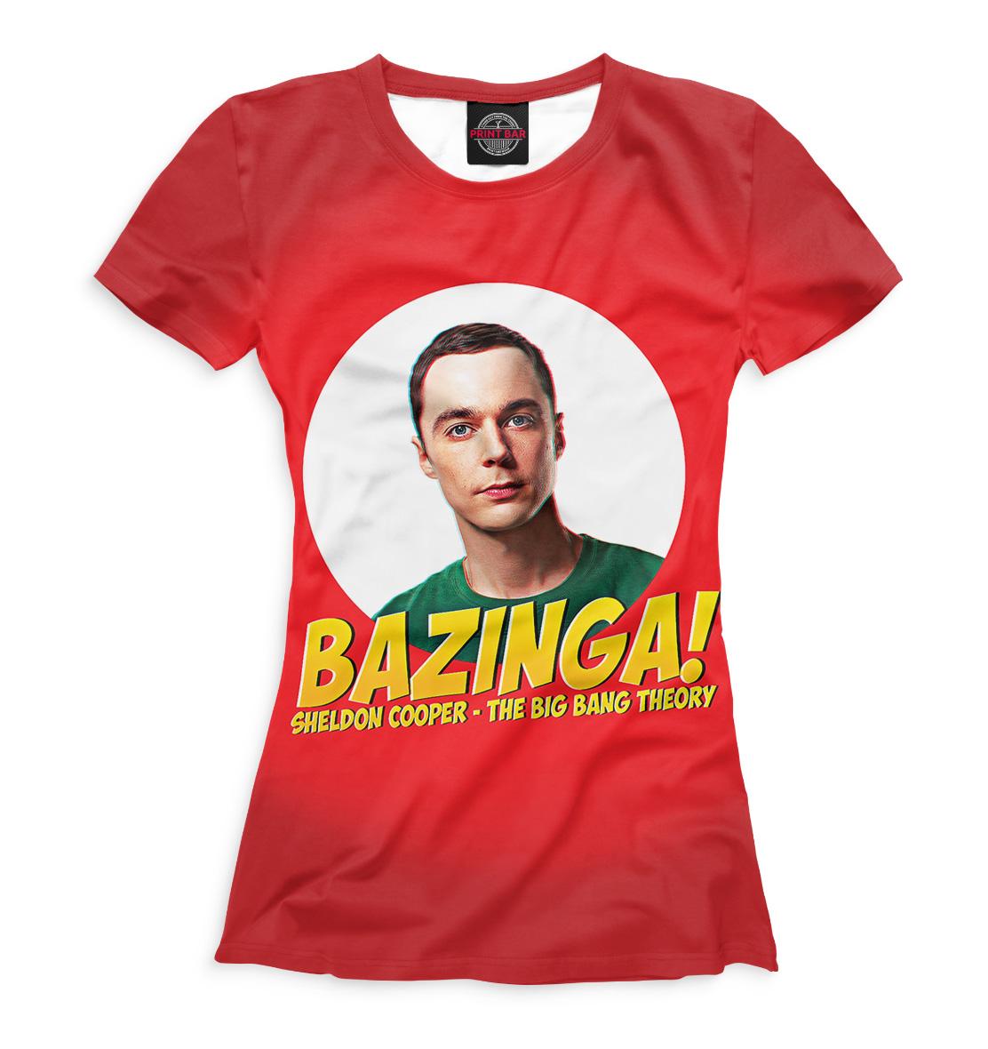Купить Футболка для девочек Bazinga! TEO-379309-fut-1