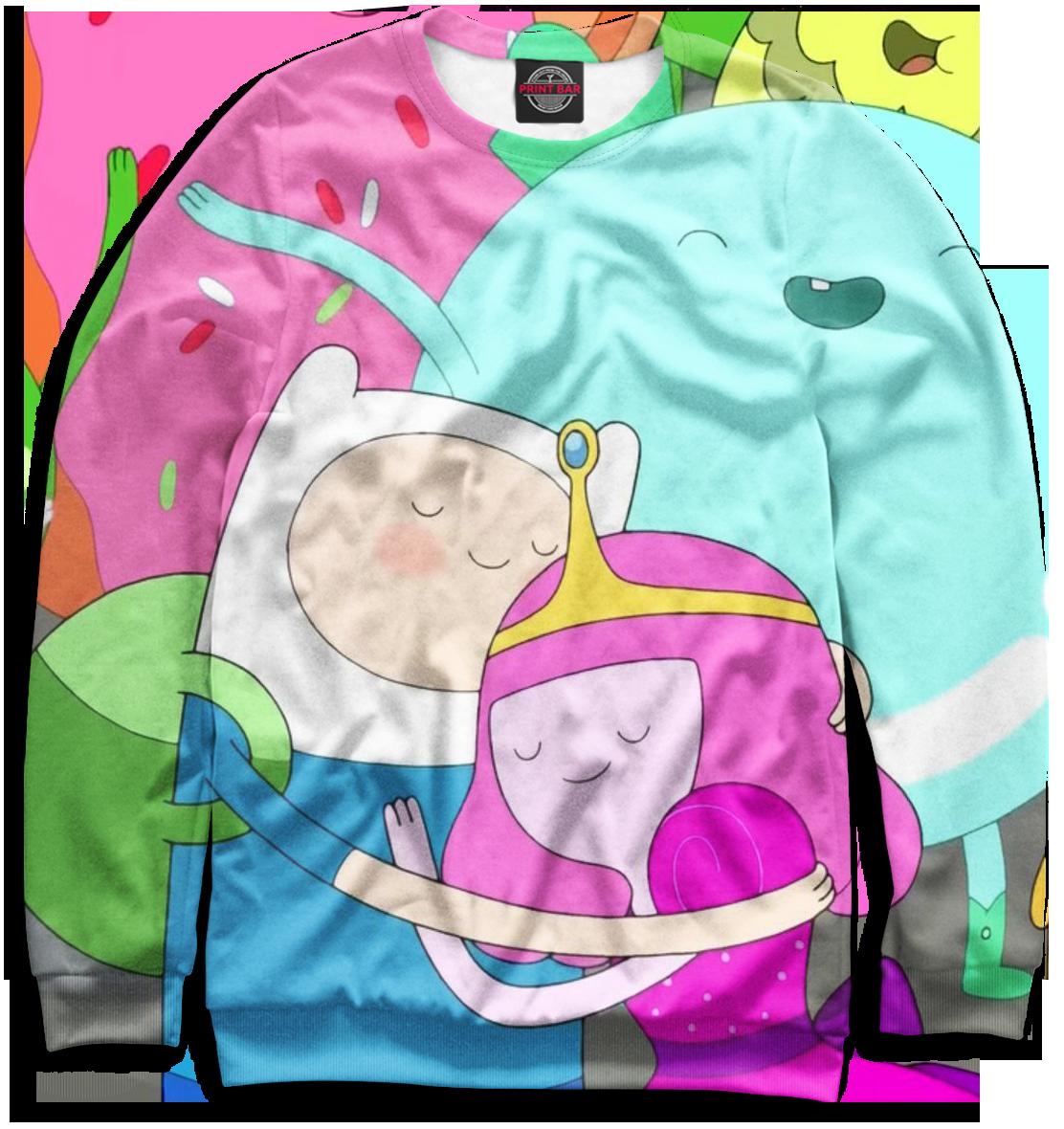 Купить Мужской свитшот Adventure Time ADV-820951-swi-2