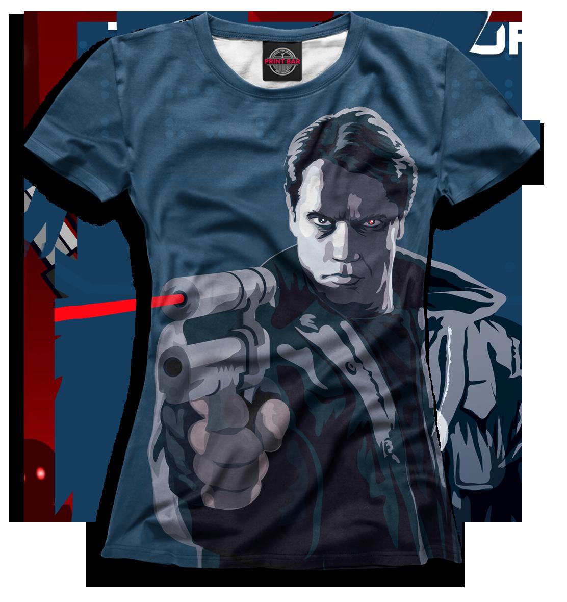 Купить Женская футболка Терминатор TER-127314-fut-1