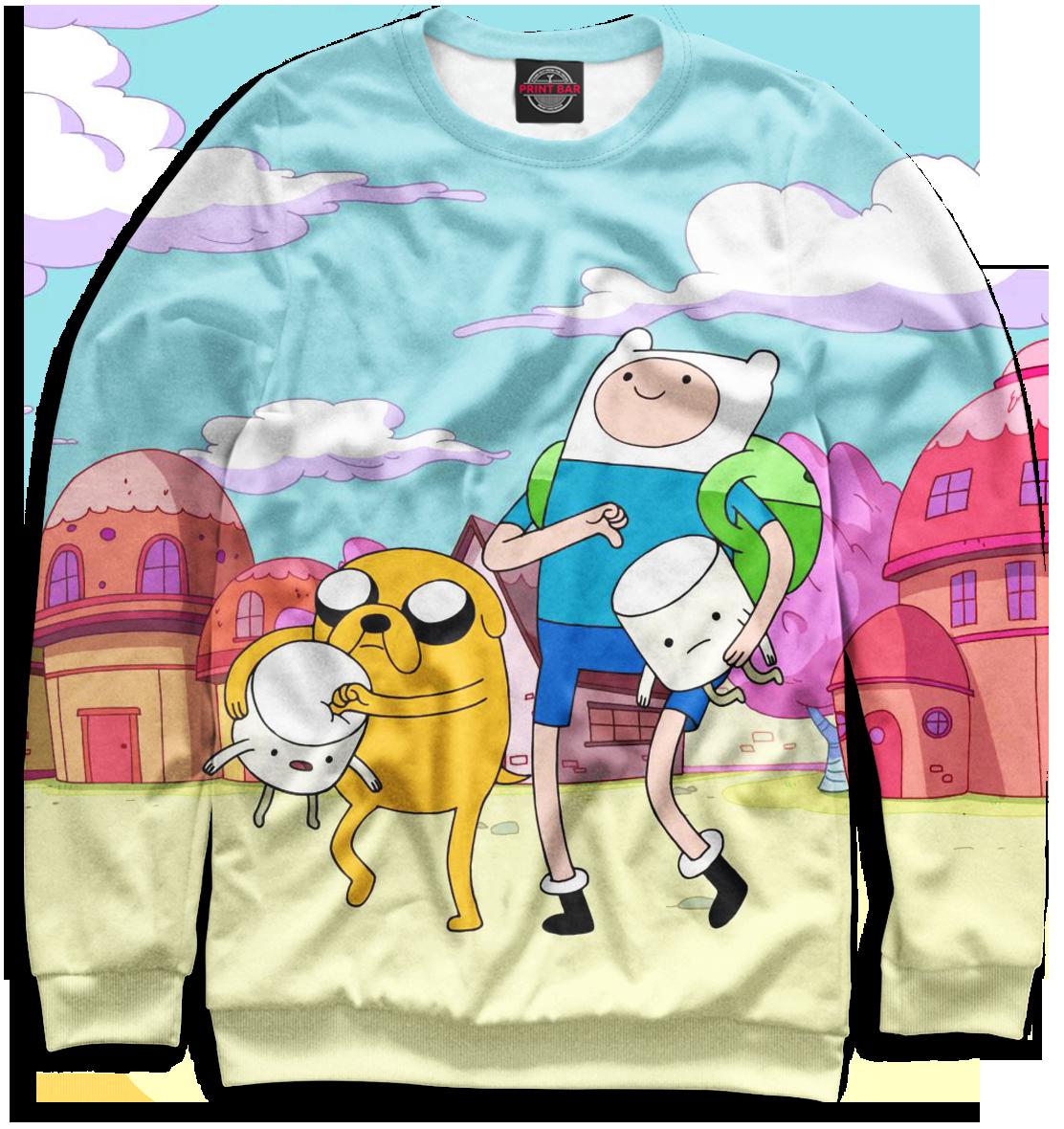 Купить Мужской свитшот Adventure Time ADV-703536-swi-2