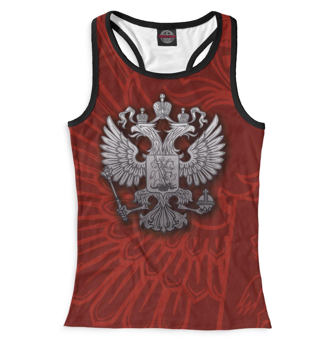 Купить Женская майка-борцовка Двуглавый орел SRF-616990-mayb-1