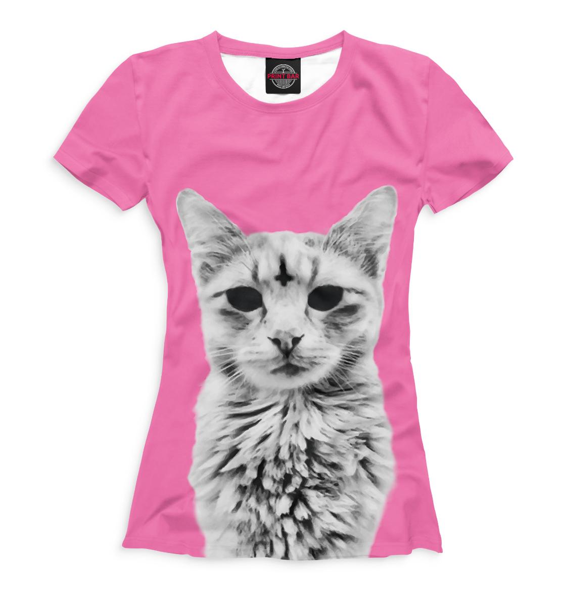 Купить Футболка для девочек Коты CAT-850644-fut-1