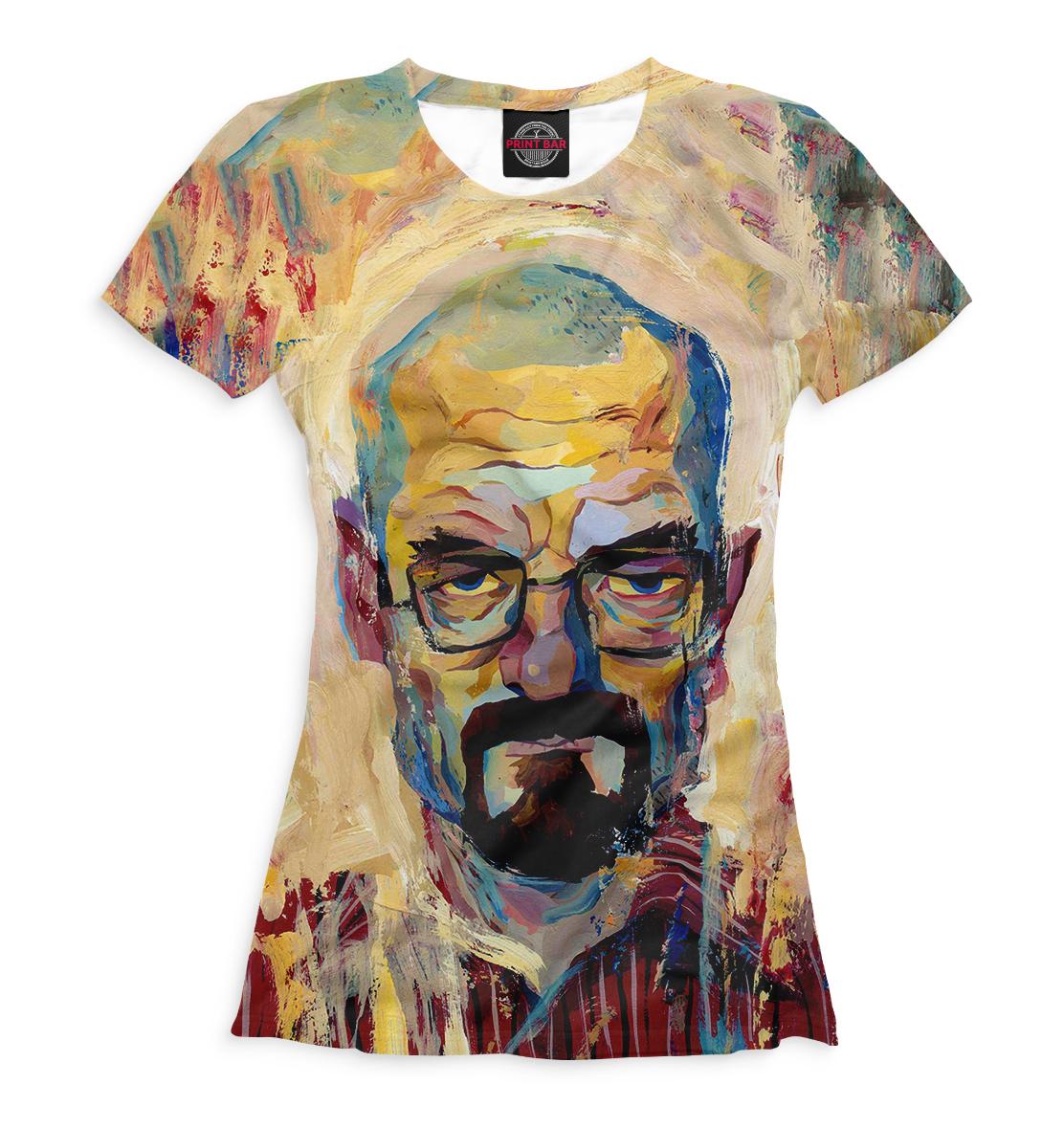 Купить Женская футболка Хайзенберг VVT-306061-fut-1