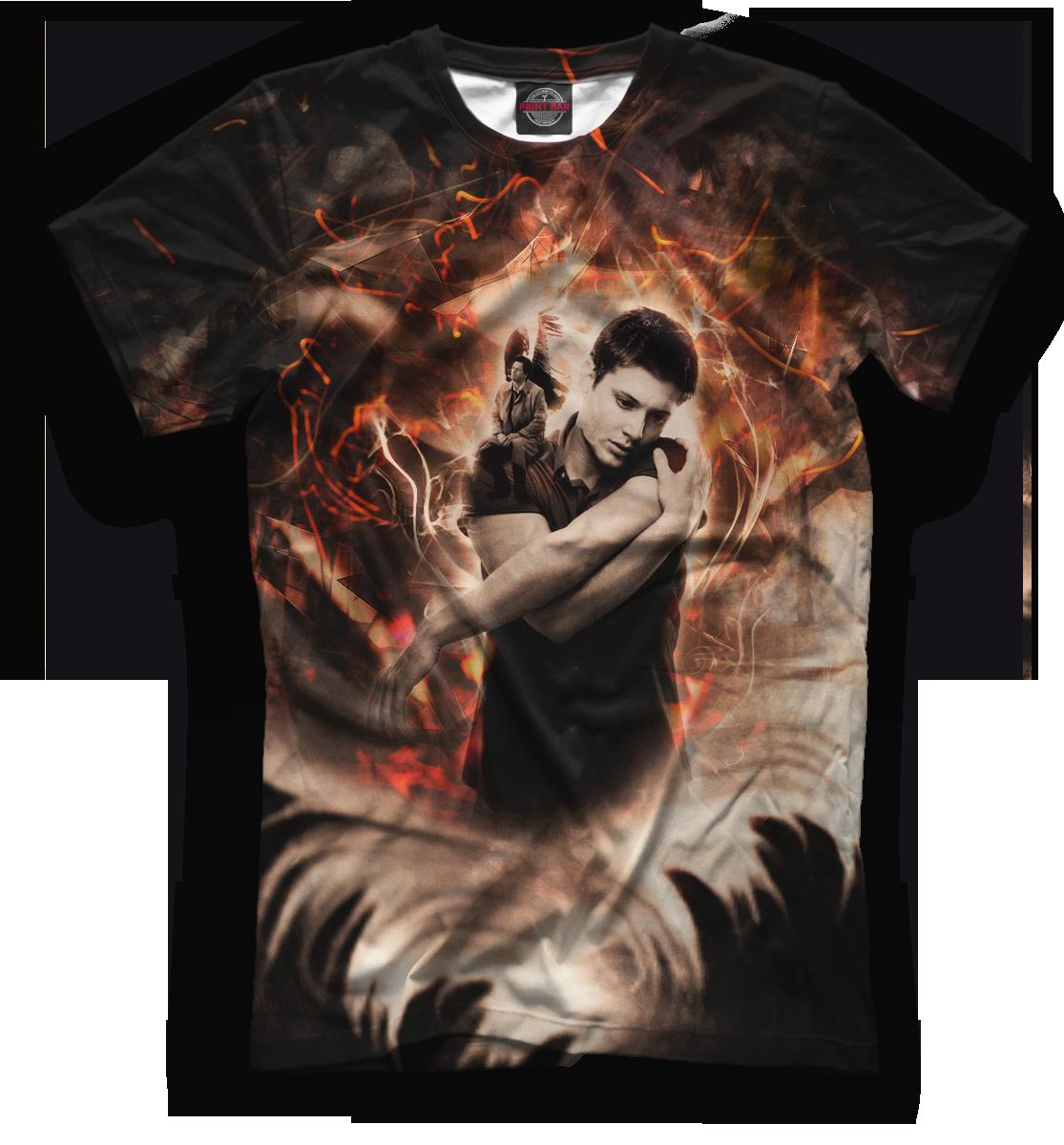 Сверхъестественное картинка для футболки