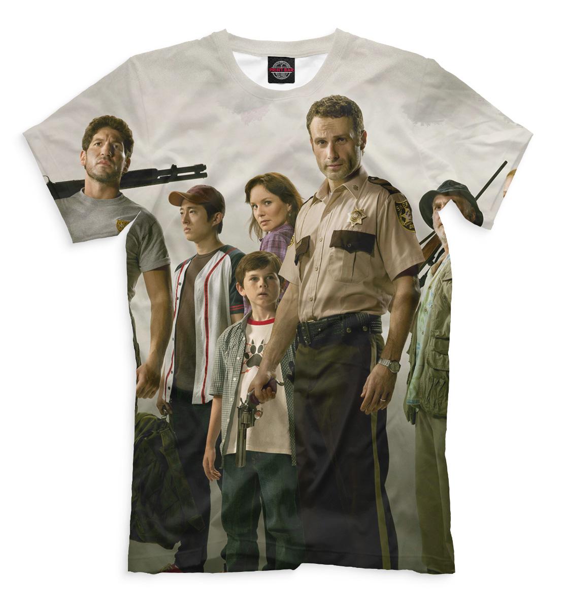 Купить Мужская футболка Ходячие мертвецы HOD-902747-fut-2