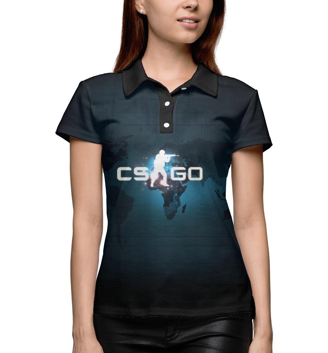 Купить Поло для девочки CS GO COU-577802-pol-1