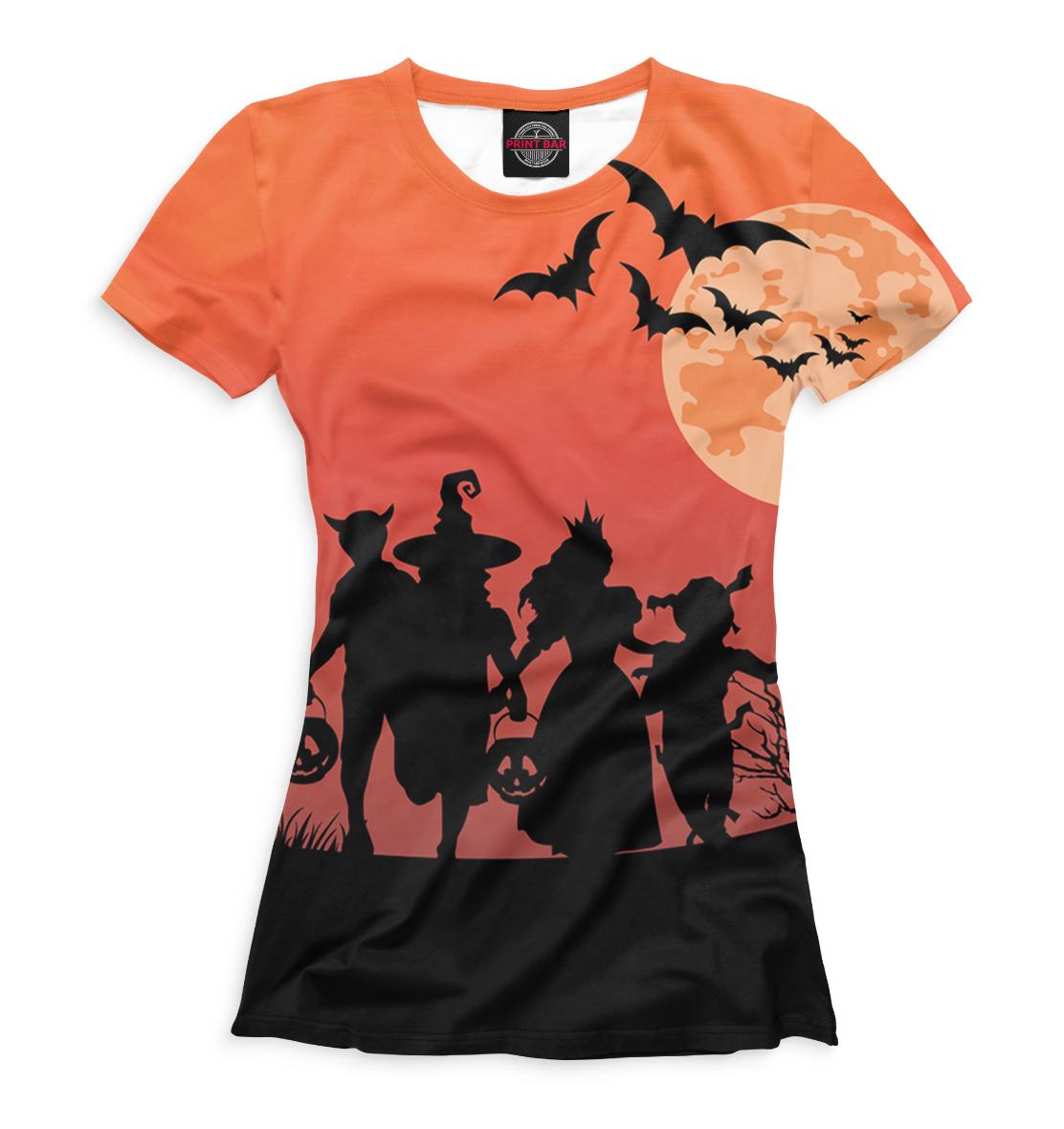 Купить Женская футболка Halloween HAL-636858-fut-1
