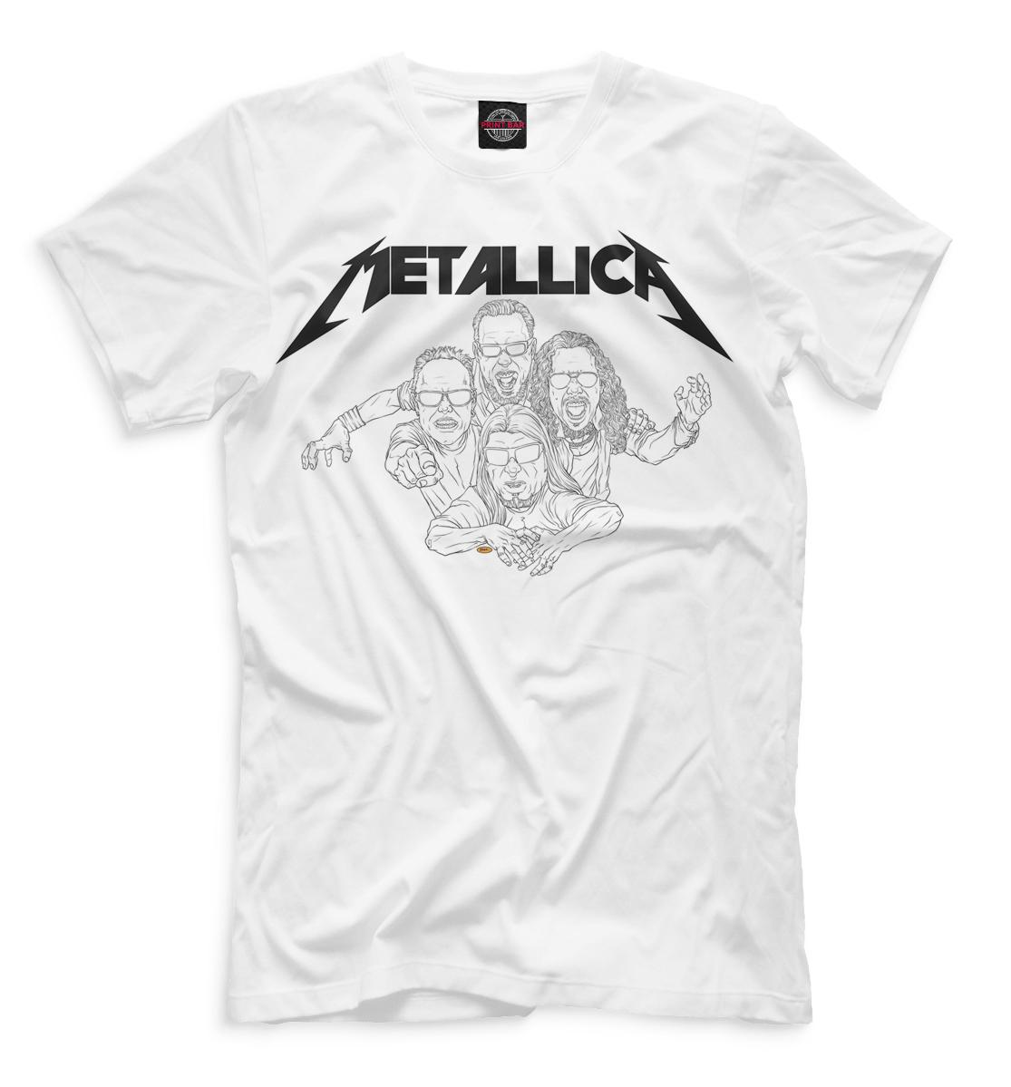 Футболка для мальчиков  Metallica