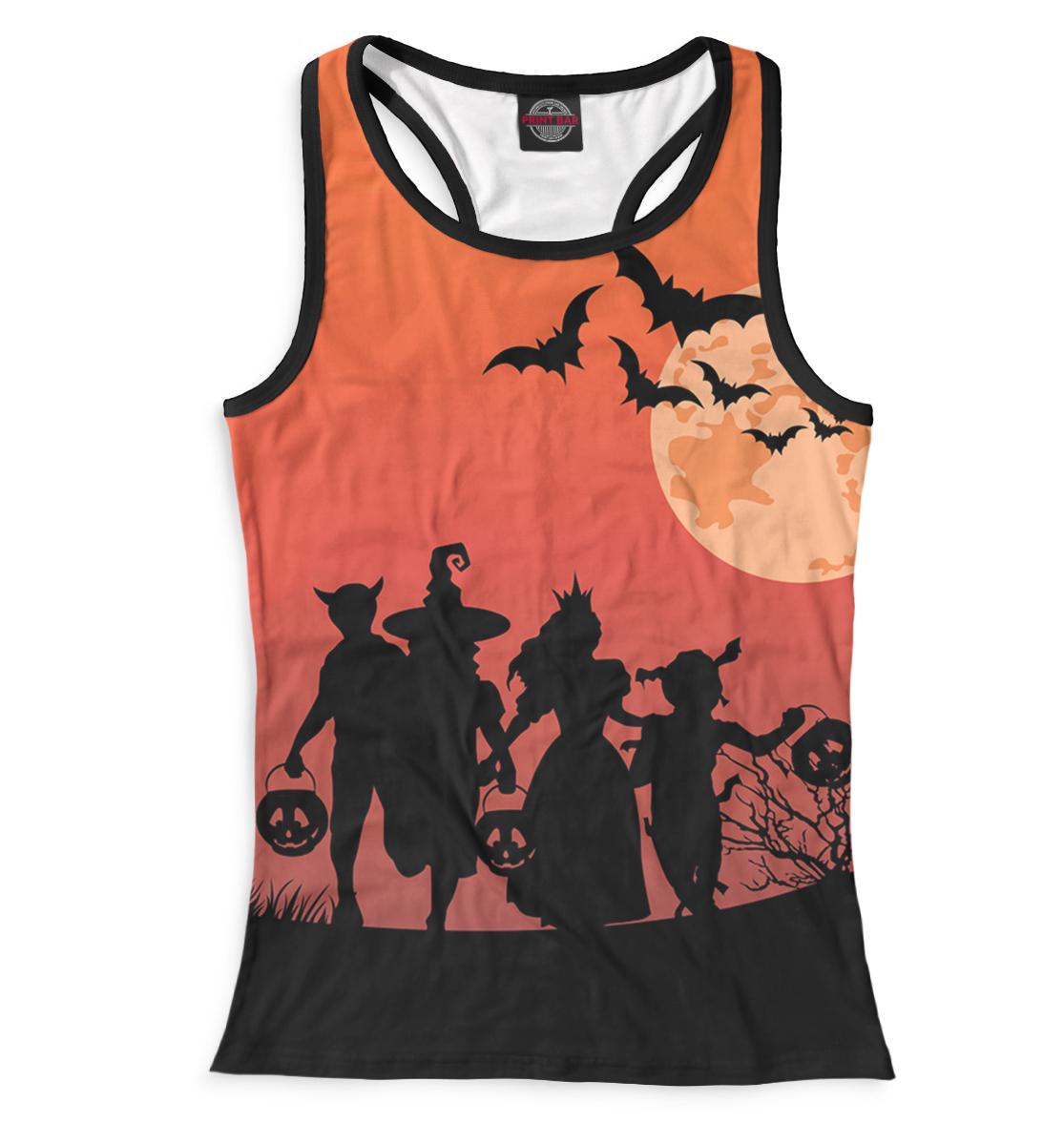 Купить Женская майка-борцовка Halloween HAL-636858-mayb-1