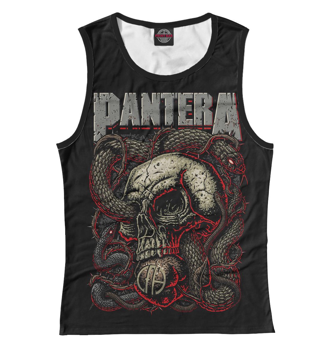Купить Женская майка Pantera Skull and Snake PNT-503328-may-1