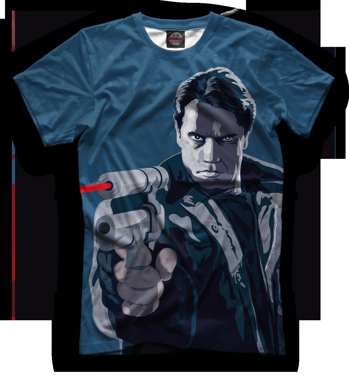 Купить Мужская футболка Терминатор TER-127314-fut-2