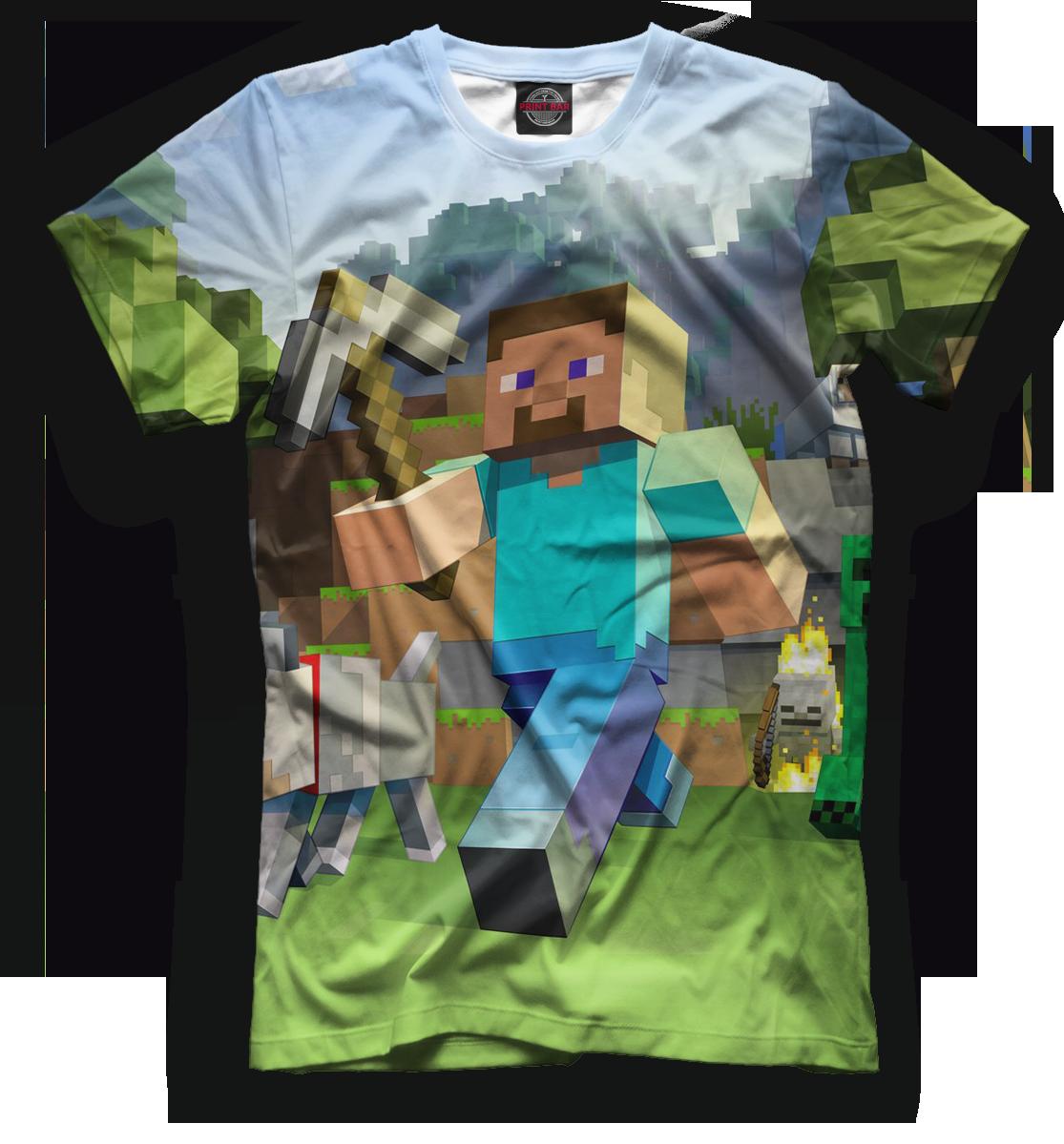 Купить Мужская футболка Minecraft MCR-593972-fut-2
