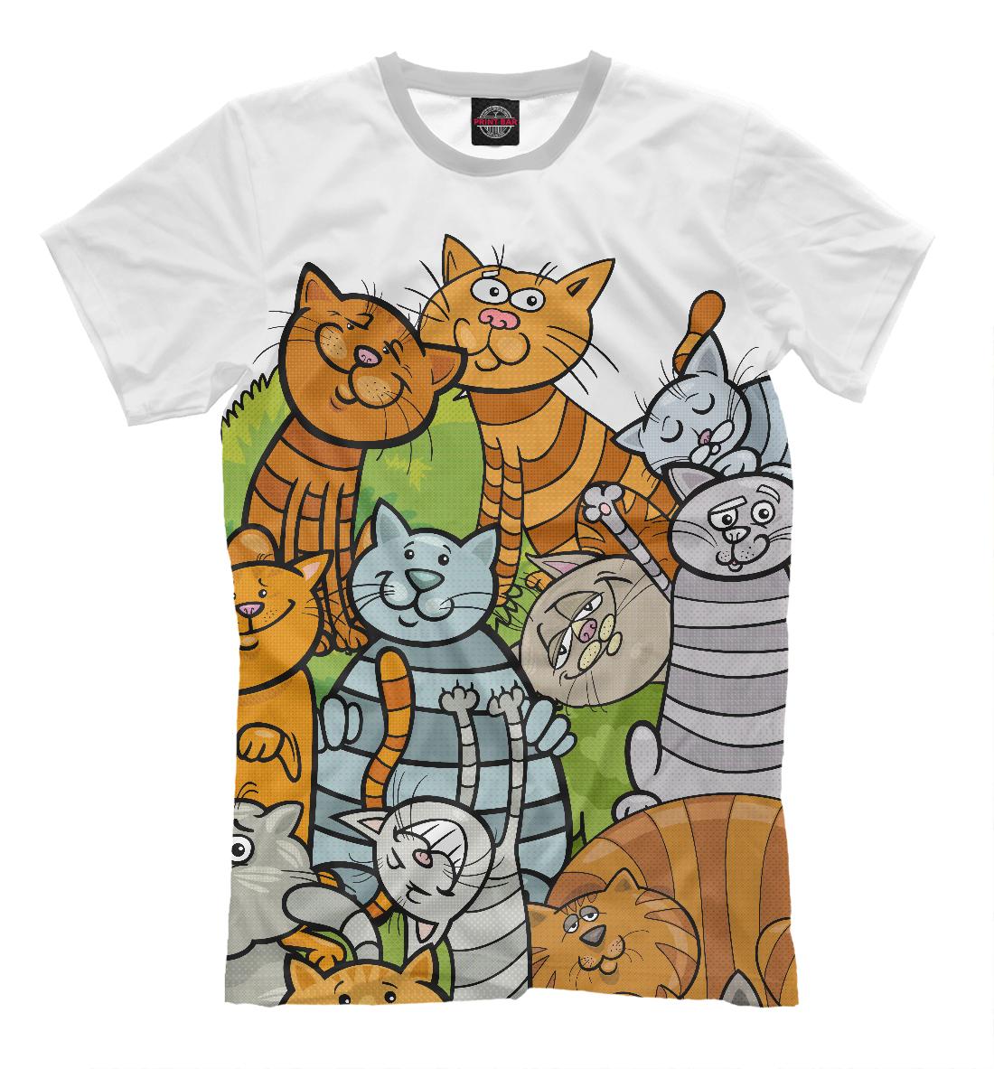 Картинки котов для футболок