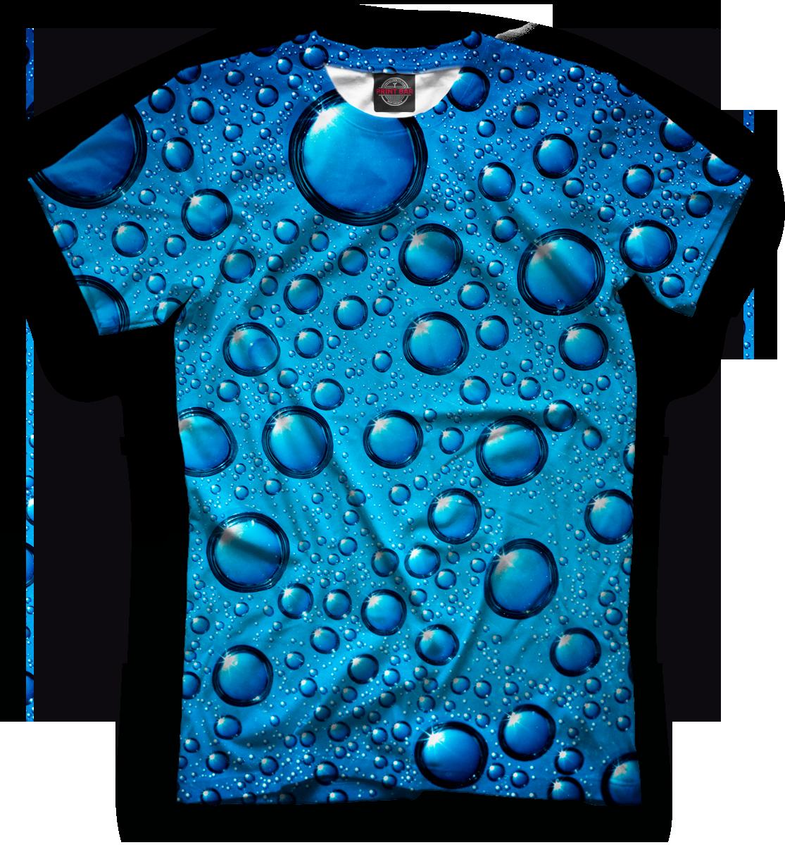 Купить Мужская футболка Капли MAC-138956-fut-2