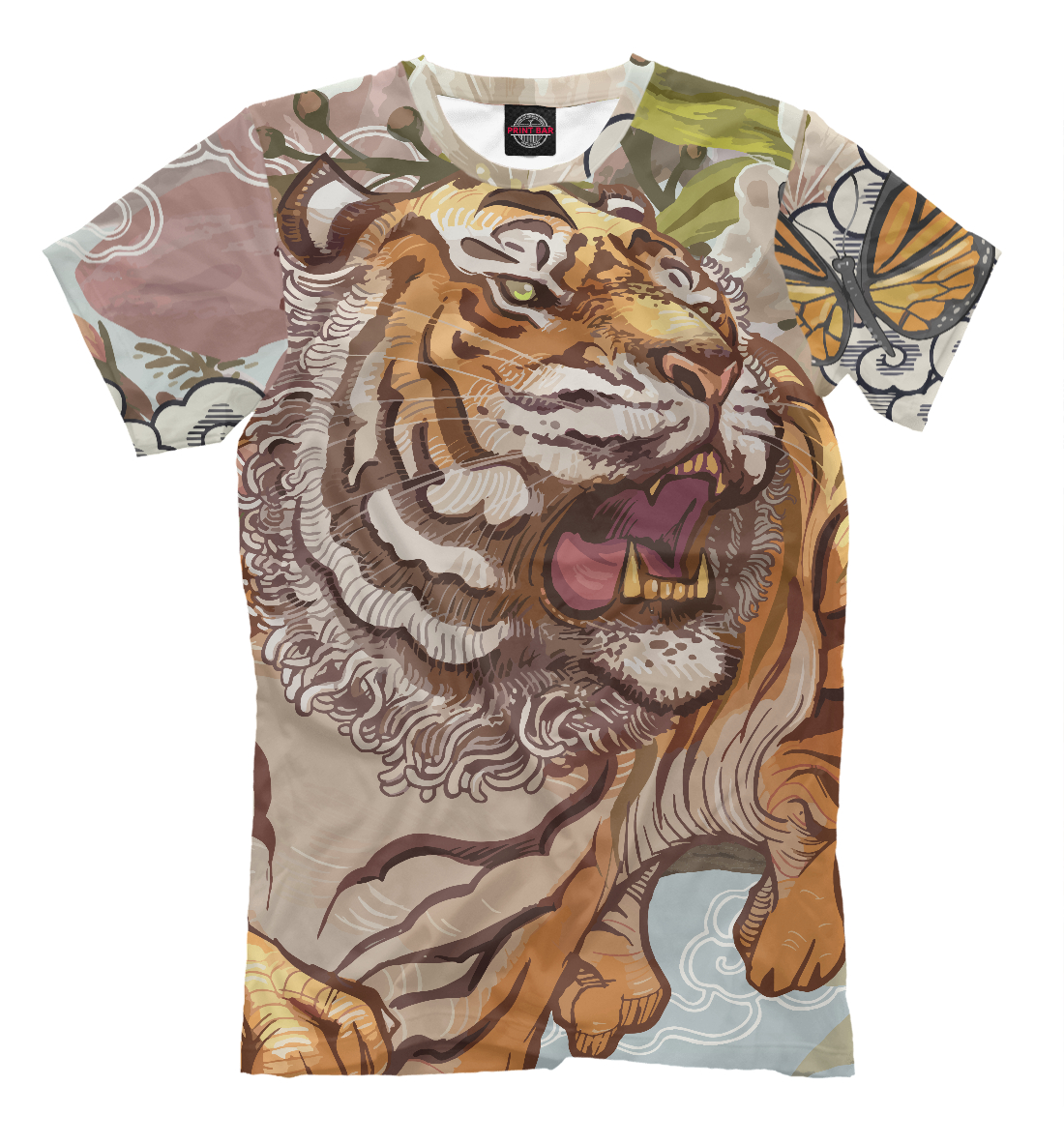 Мужских открыток, открытки тигр в одежде
