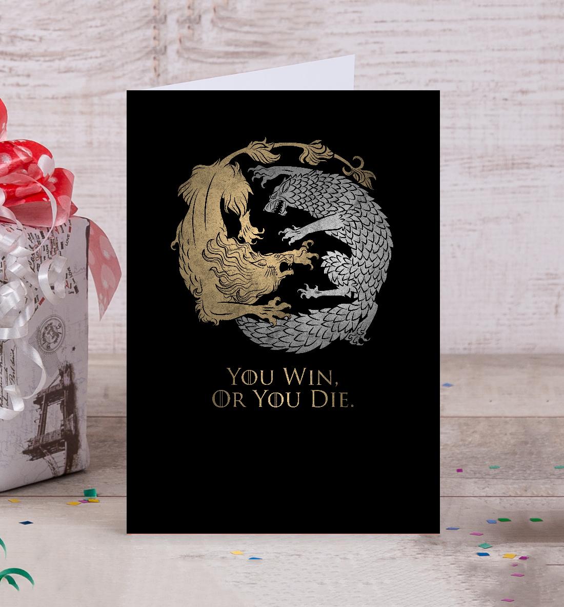 Открытки для фанатов игры престолов, открытка строение