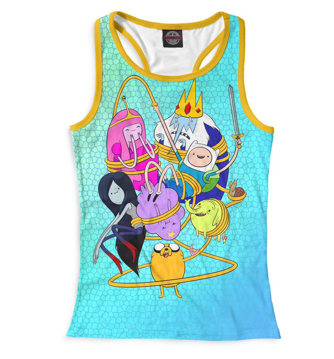 Купить Майка для девочки Adventure Time ADV-721112-mayb-1