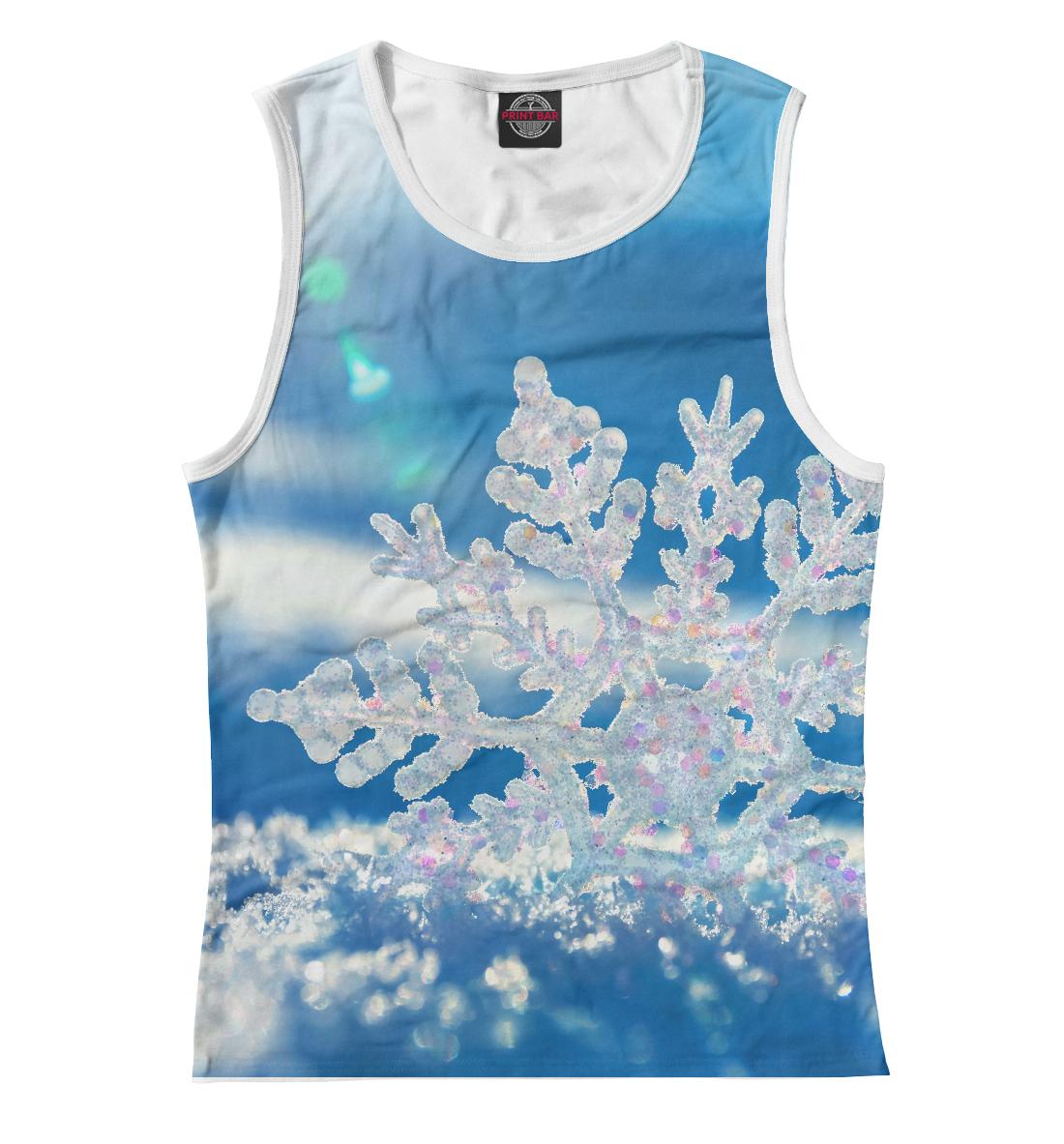 Купить Майка для девочки Снежинка MAC-534960-may-1