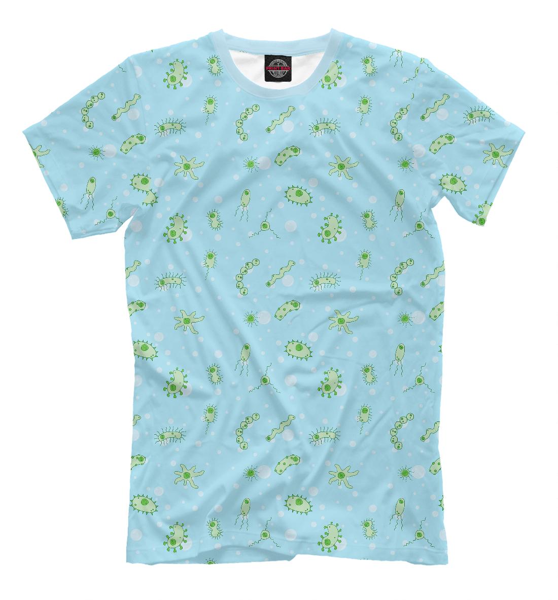 Купить Мужская футболка Микробики VRC-324855-fut-2