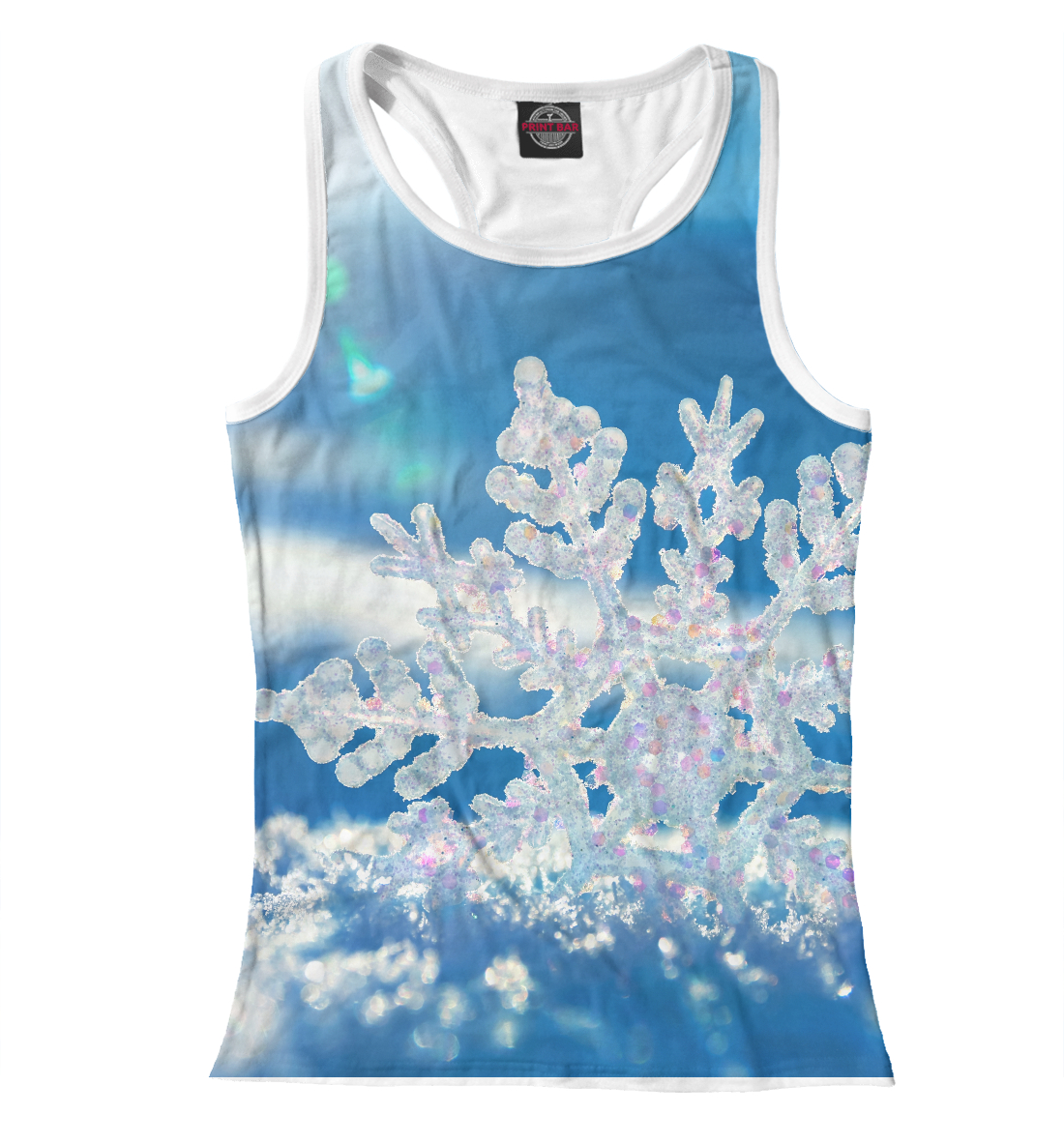 Купить Майка для девочки Снежинка MAC-534960-mayb-1