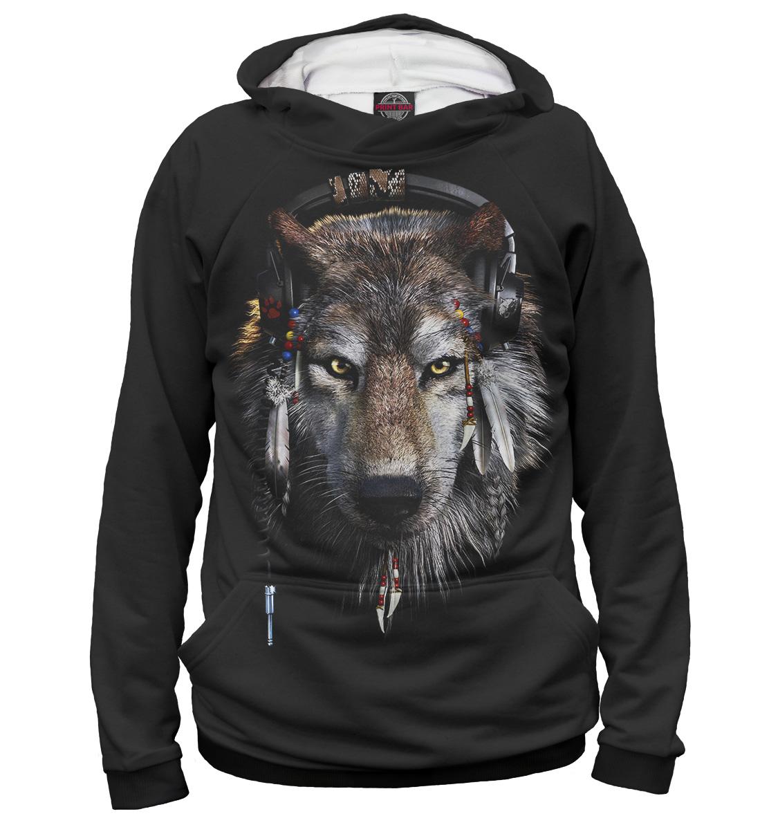 Купить Женское худи Волки VLF-615705-hud-1