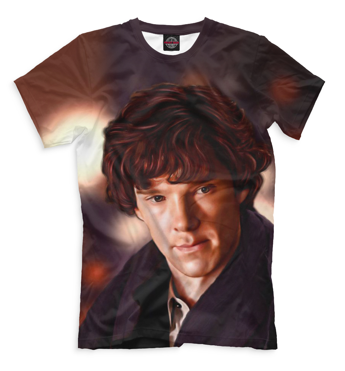 Купить Мужская футболка Шерлок SHE-517130-fut-2