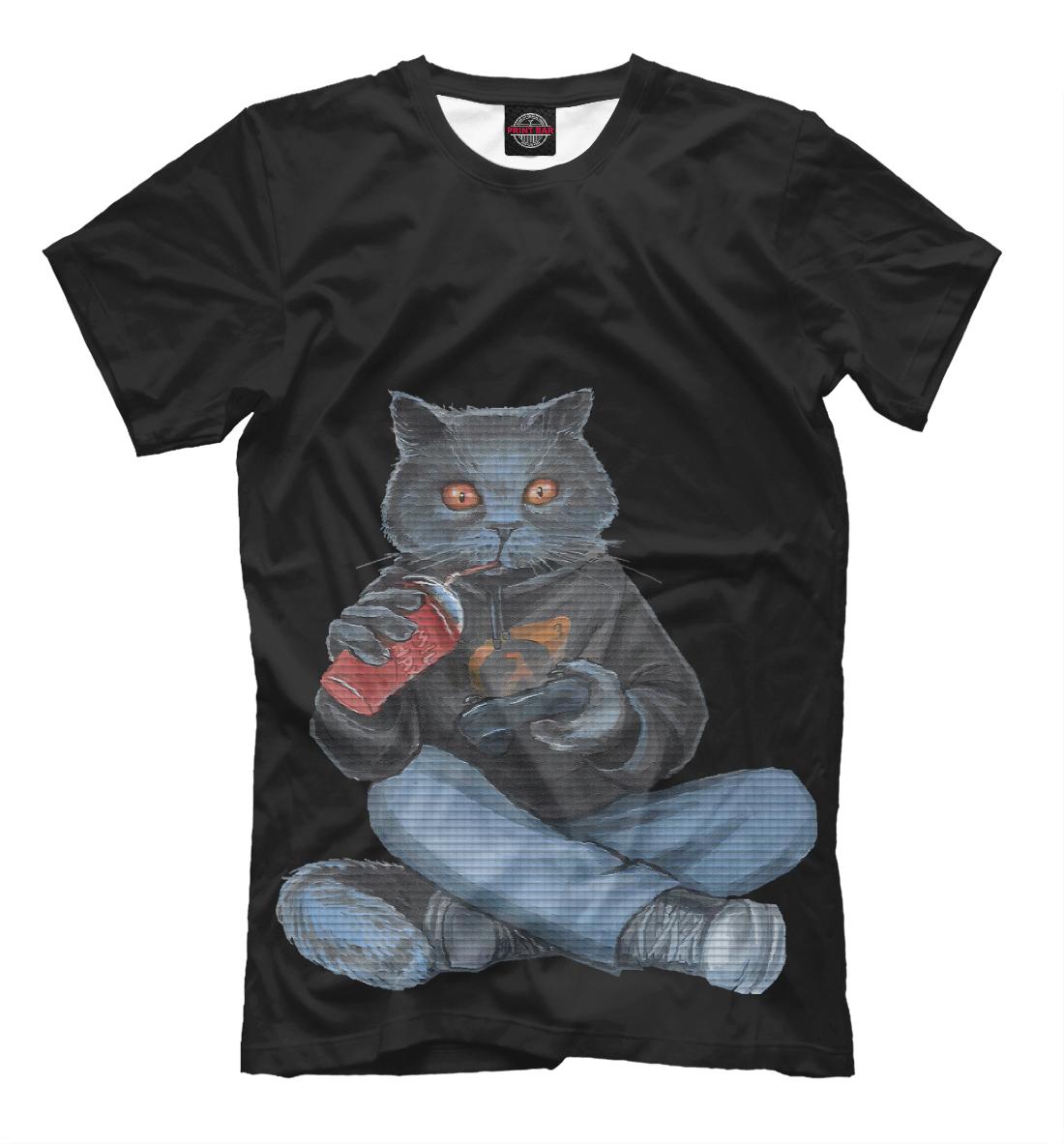 картинки футболка котика игромана острая болезнь