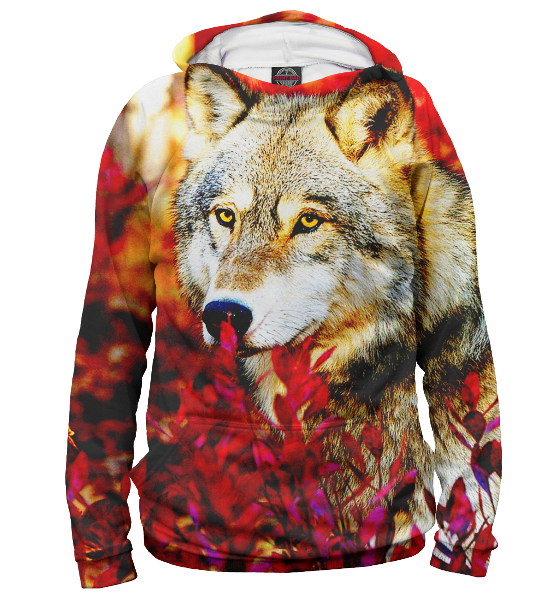 Купить Женское худи Волки VLF-917781-hud-1