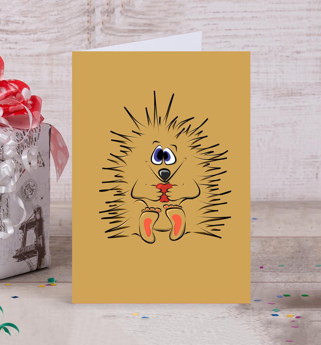 Магазин ежика открытки