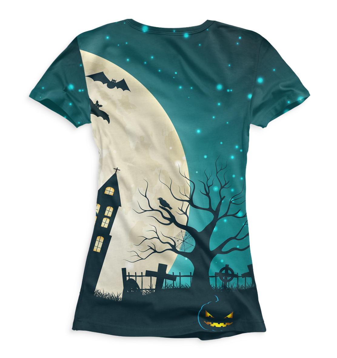 Купить Женская футболка Halloween HAL-105129-fut-1