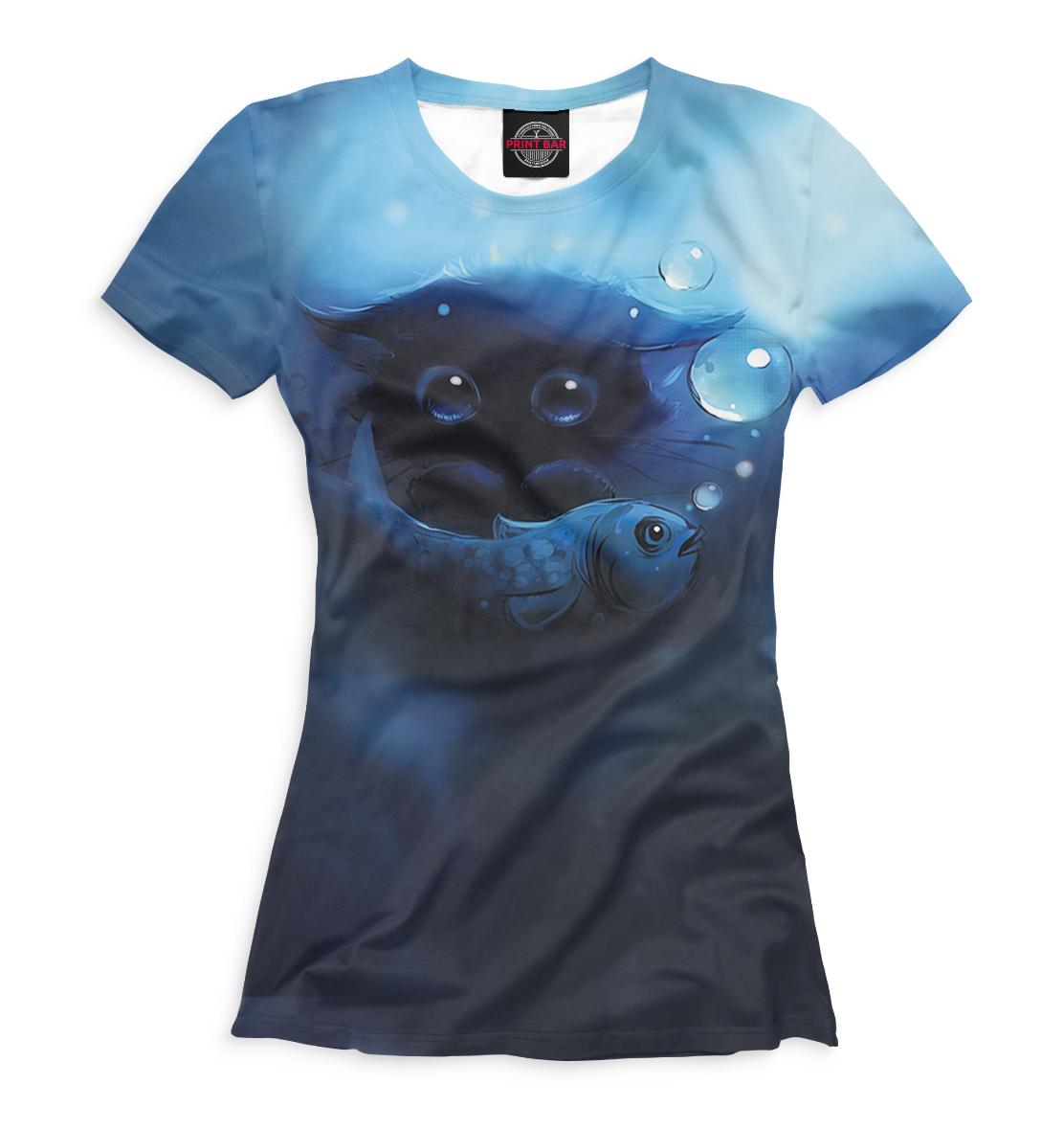 Купить Футболка для девочек Коты CAT-931370-fut-1