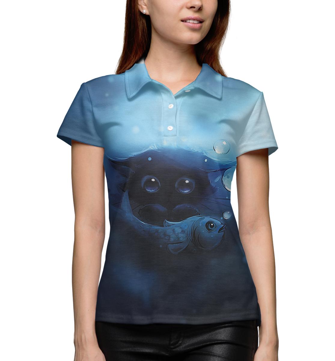 Купить Женское поло Коты CAT-931370-pol-1