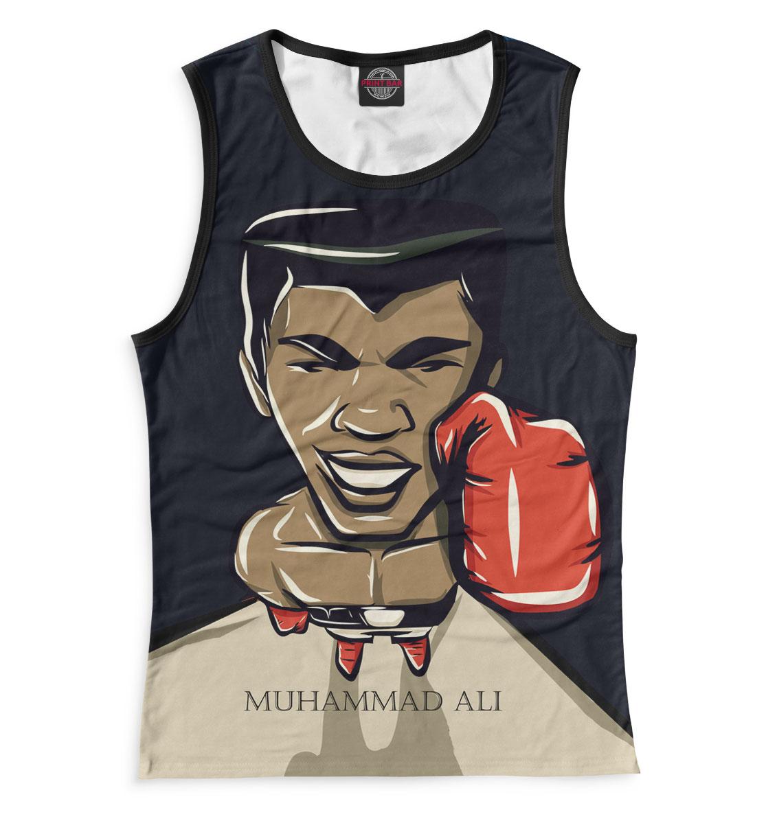 Купить Женская майка Мухаммед Али ALI-159795-may-1