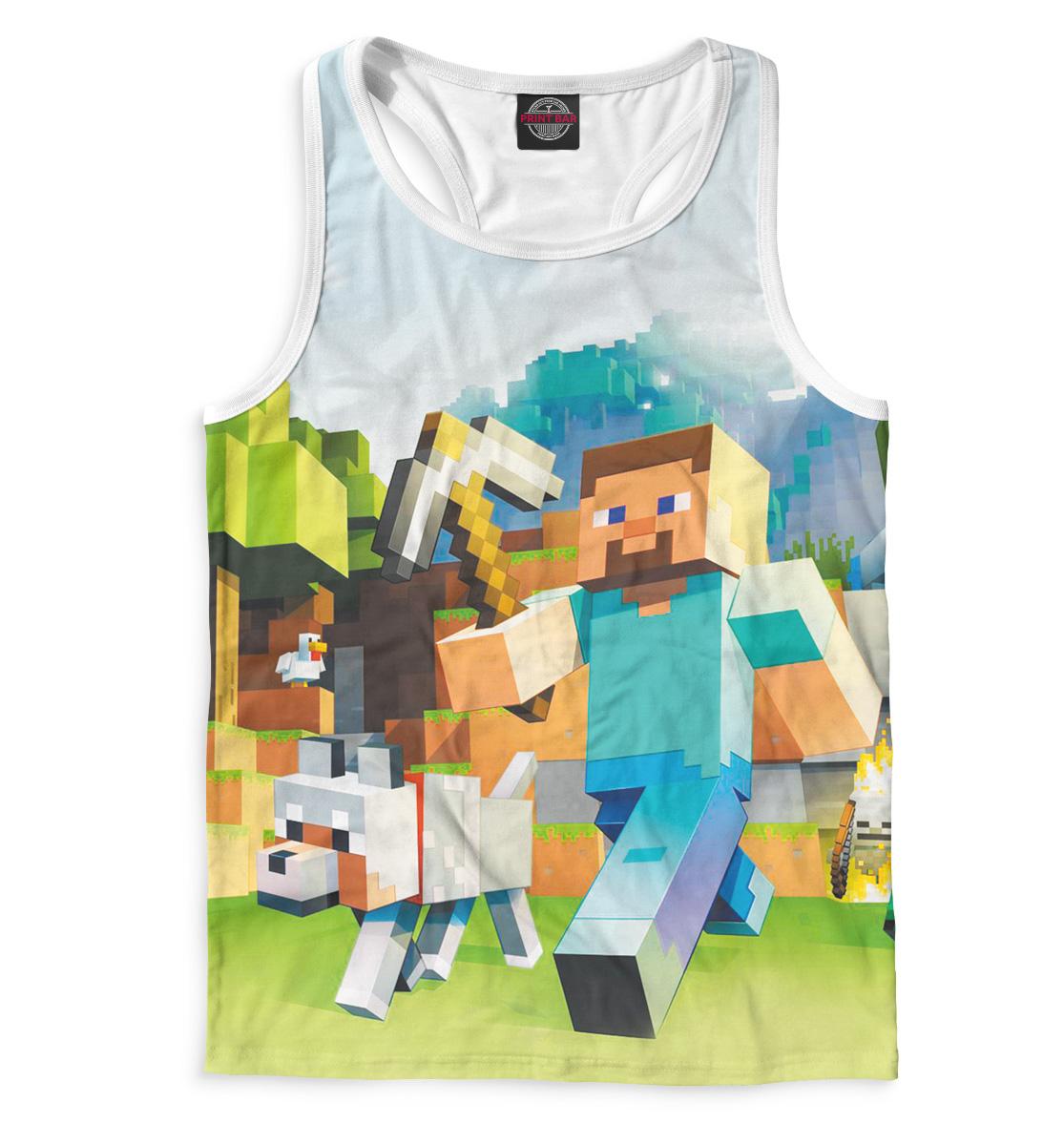 Купить Мужская майка-борцовка Minecraft MCR-593972-mayb-2