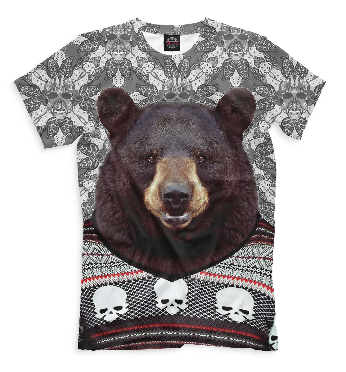 Картинки медведя в свитере
