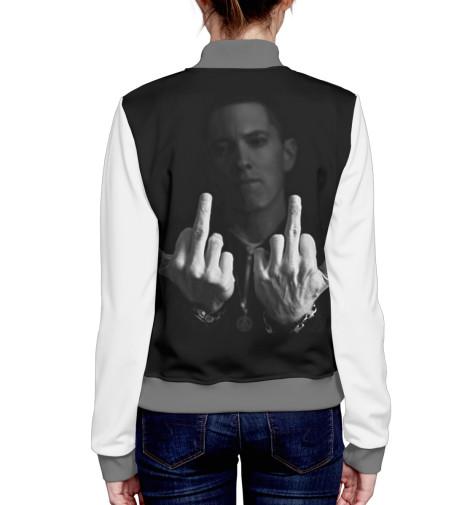 Бомбер Print Bar Eminem бомбер printio мода 2017