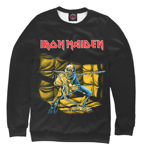 Свитшот Print Bar Iron Maiden Piece of Mind виниловая пластинка iron maiden piece of mind
