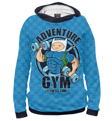 Худи Print Bar Adventure Gym худи print bar adventure gym