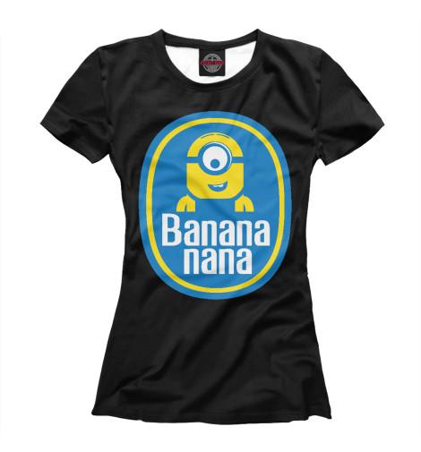 Футболка Print Bar Banana Nana футболка print bar damask banana