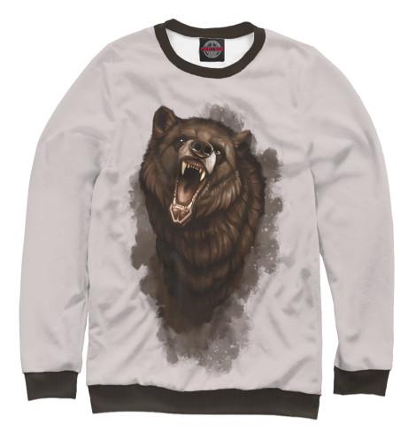 Свитшот Print Bar Бурый медведь майка борцовка print bar бурый медведь