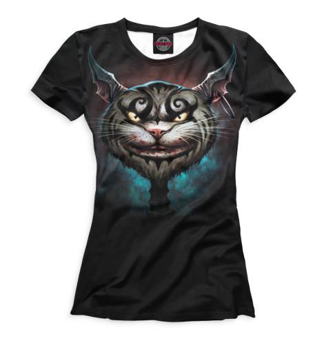 Женская футболка Коты