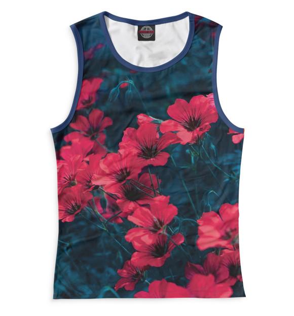 Купить Женская майка Цветы CVE-524108-may-1