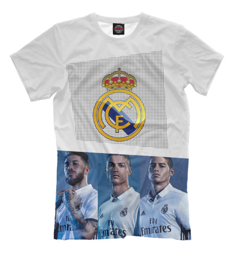 Футболка Print Bar Real Madrid Collection футболка print bar real огненный лого